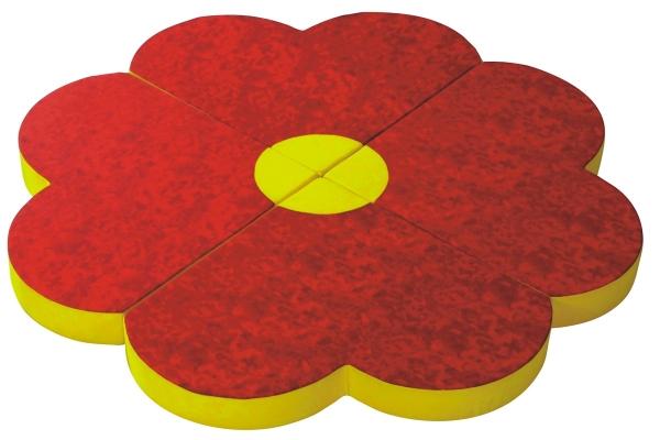 Bodenpolster Blume 4-teilig